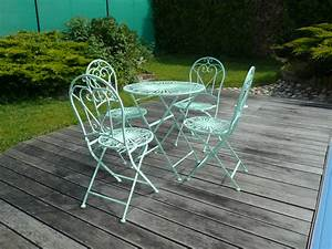 Table De Jardin En Fer Forgé : photo gallery garden furniture wrought iron garden furniture ~ Teatrodelosmanantiales.com Idées de Décoration