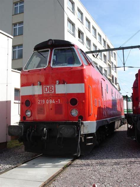 219084 Im Db Werk Erfurt Die Lok Ist Nicht Mehr Im