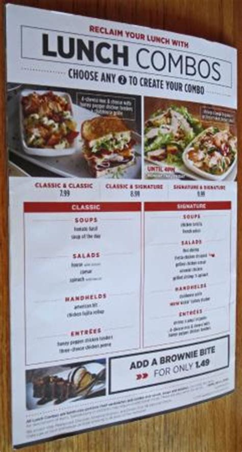 applebee s light menu menu lunch combos picture of applebee s waterford