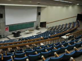 College Lecture Hall Empty