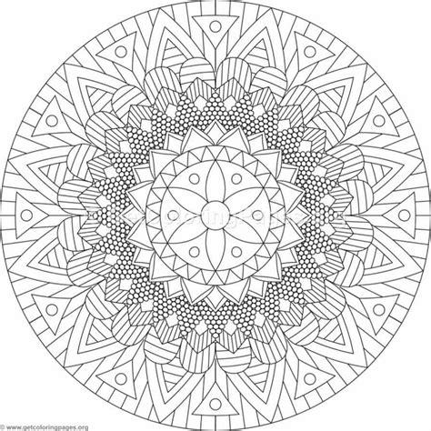 tribal mandala coloring pages  getcoloringpagesorg