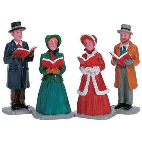 lemax christmas harmony figurines set of 4 72403