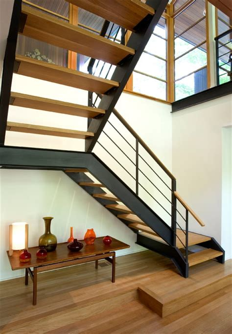 floating staircase modern staircase