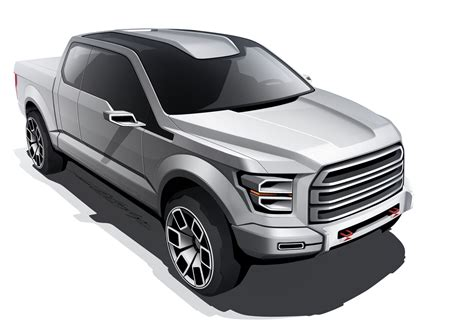ford reveals concept trucks  ultimately  atlas