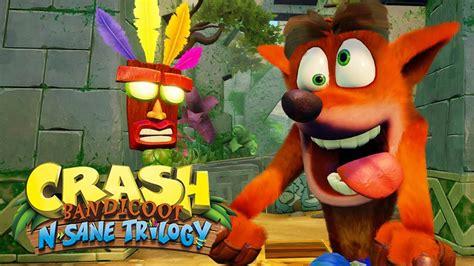 crash bandicoot  ps crash  sane trilogy remake
