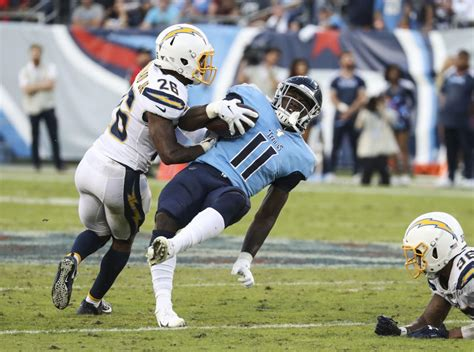 nfl  los angeles chargers  tennessee titans oct