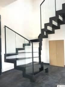 Garde Corps Escalier Interieur Pas Cher by Fabrication Escalier Metal Bois Escalier Moderne En