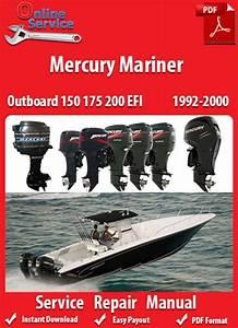 Factory Pdf Manuals  Mercury Mariner 150 175 200 Efi 1992