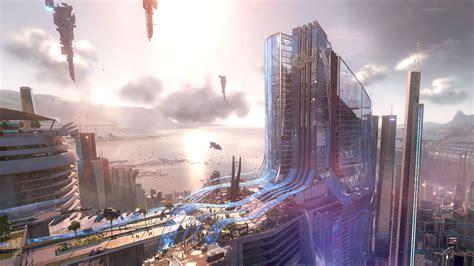 sci fi city picture wallpaper sci fi   sci fi