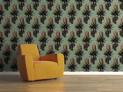 Aloe Wallpapers Fabrics Printed Custom