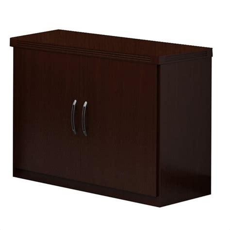 Just Cabinets Furniture More Aberdeen Md Mayline Aberdeen Storage Cabinet In Mocha Ascldc