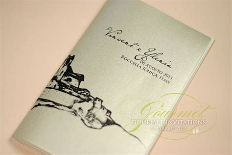 16 Best Images About Italy Wedding Invitations On