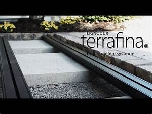 Verlegen einer terrafina terrasse wpc teil 1 unterkonstruktion youtube for Wpc terrasse unterkonstruktion