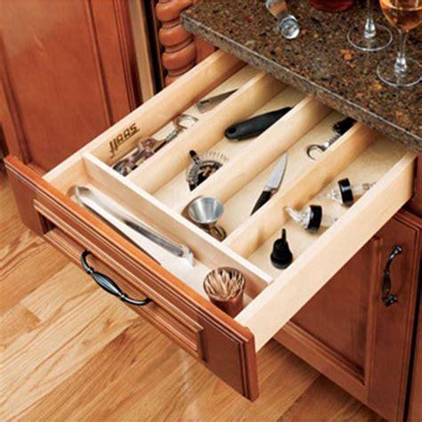 kitchen drawer organizer inserts rev  shelf wut series