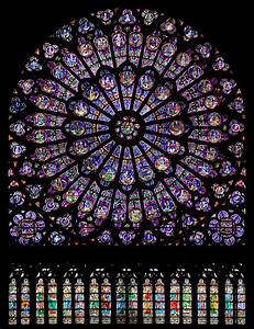 File North Rose Window Of Notre