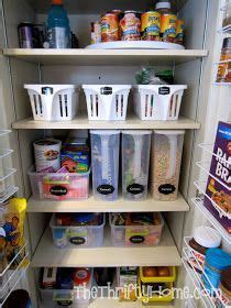 thrifty home deep pantry organization turntable