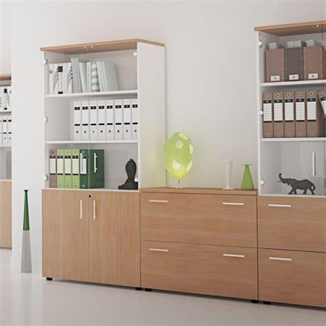 rangement bureau bois armoire de rangement en bois silver lemondedubureau