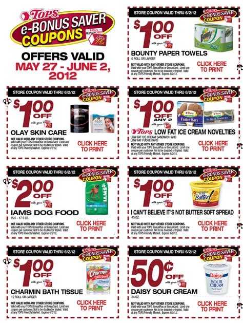 14283 Food Coupons By Mail by Supermarket Coupons Printable Coupons