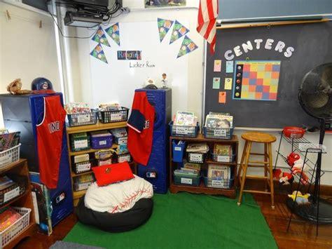 sports themed elementary classroom decorating ideas