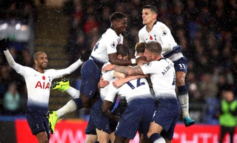 Includes the latest news stories, results, fixtures, video and audio. Tottenham players celebrate Crystal Palace win on Twitter