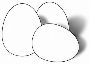 clipartist.net » Clip Art » easter eggs black white line ...