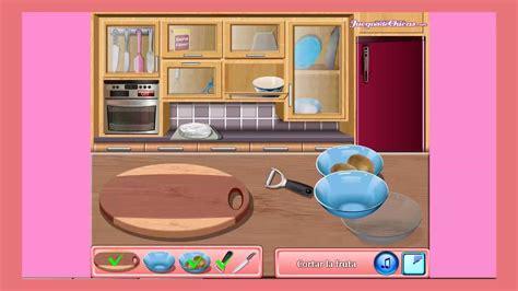 Juegos De Cocina Con Sara Tarta Pavlova