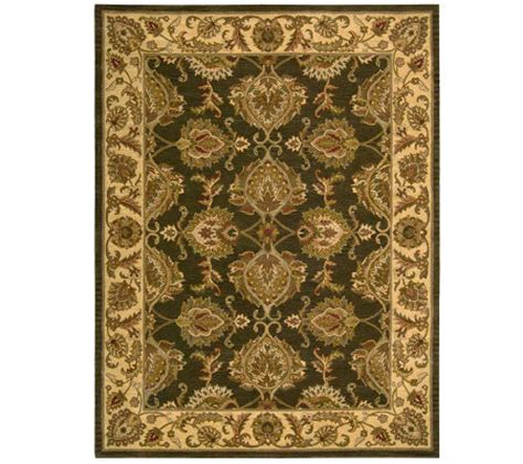 qvc area rugs 8 x 10 6 quot tabriz area rug by valerie qvc