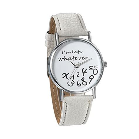 Whatever I M Late Anyway Uhr by F 252 R M 228 Dchen Jewelrywe G 252 Nstig Kaufen