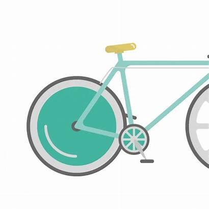 Wheel Flat Bicycle Move Animate Should Designmodo