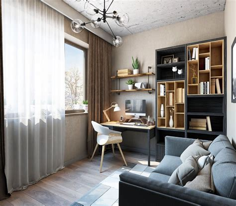 idees pour agencer  decorer  bureau amenagement