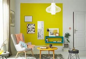 Deco Mur Jaune. idee deco gris et jaune. d co salon jaune citron ...