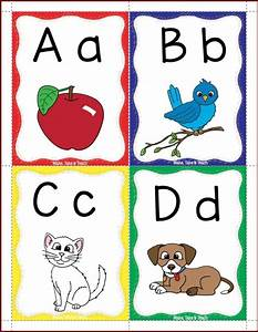 Alphabet flashcards freebie free literacy and kindergarten for Flash cards alphabet letters