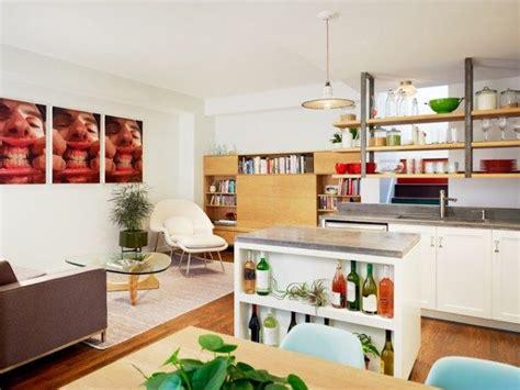 Kitchen Living Room Separator by Open Shelf Kitchen Ideas Open Kitchen Cabinets Photos