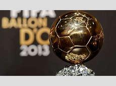 FIFA Ballon d'Or trophy Goalcom