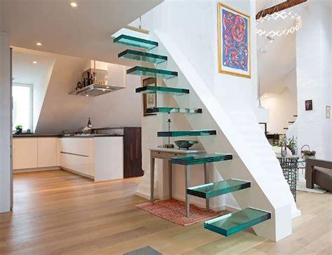 model tangga rumah tangga rumah minimalis dengan desain floating