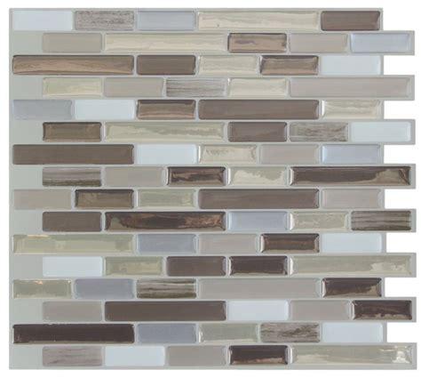Backsplash Glass Tile Adhesive by 17 Best Ideas About Self Adhesive Backsplash On