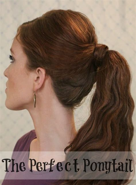 17 Best Ideas About Perfect Ponytail On Pinterest