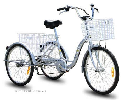 Trike Bike Adult Tricycle 3 Wheeled Bicycle 6 Gears My