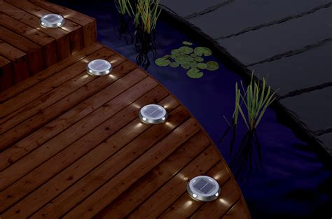 using solar deck lighting the home decor ideas