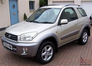 2003 Toyota Rav4 Nrg Vvti 3 Door Gold Metallic