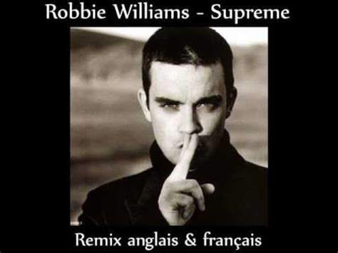 robbie williams supreme robbie williams supreme