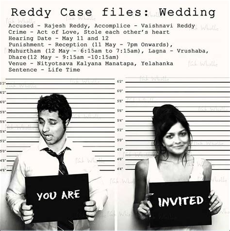 Funny Wedding Invitation Ideas