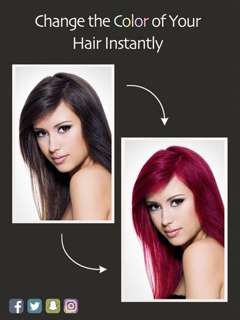 hair color change app hair color booth free apppicker