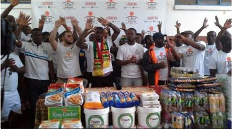 Jonathan Mensah's Foundation cleans up and donates to ...