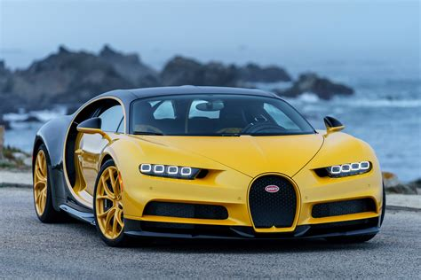 The Bugatti Chiron Finally Lands In The Usa Evo