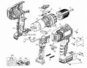 Black  U0026 Decker Drill Parts