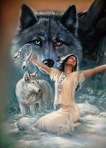 Native American on Pinterest | Wolves In Love, Native ...