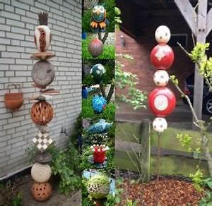 Keramik Für Den Garten : keramik ideen f r den garten in den oster und herbstferien ge ffnet keramik stele ~ Buech-reservation.com Haus und Dekorationen