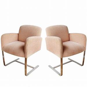 Pair Of Donghia Armchairs For Sale At 1stdibs