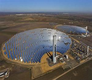 Solar Power Tower In Spain - Webjazba | Science ...